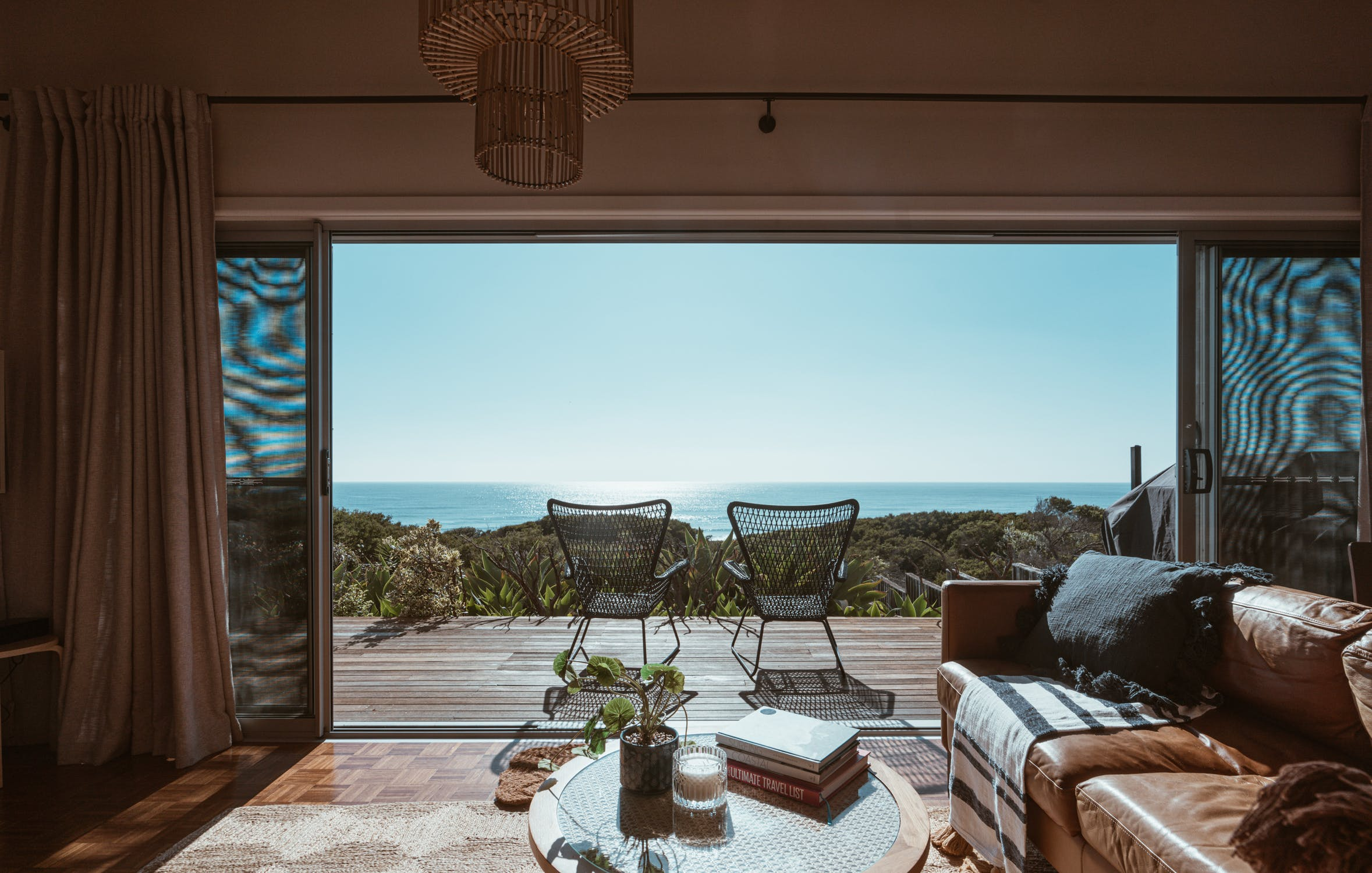 beach front villa rental